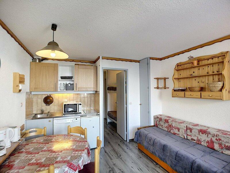 BOEDETTE A 409 -  Studio cabine 4 pers 21m² aux pieds des pistes, casa vacanza a Les Bruyeres