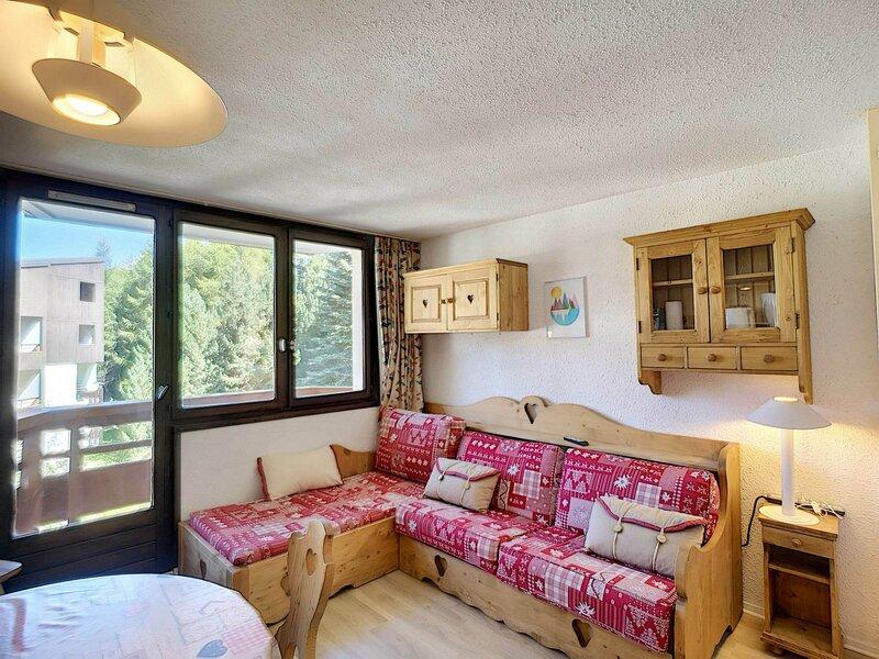 BOEDETTE D 523 - Joli studio cabine 4 pers 21m² aux pieds des pistes, casa vacanza a Les Bruyeres