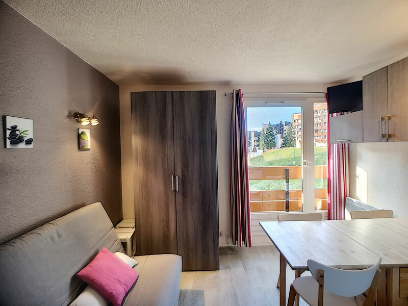 CARLINES I 13 - Studio cabine 4 pers 20m² ski aux pieds, holiday rental in Les Bruyeres