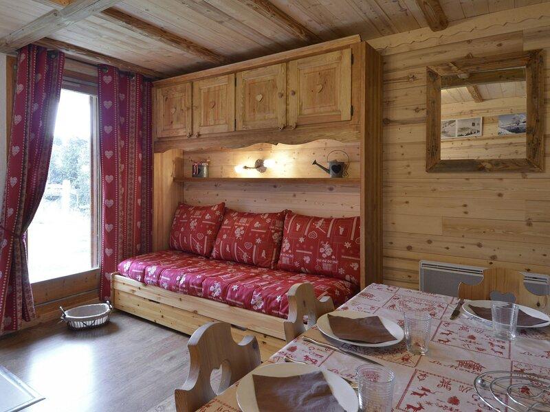 Studio récemment rénové pour 3/4 personnes de 25m², au pied des pistes, vacation rental in Belle Plagne