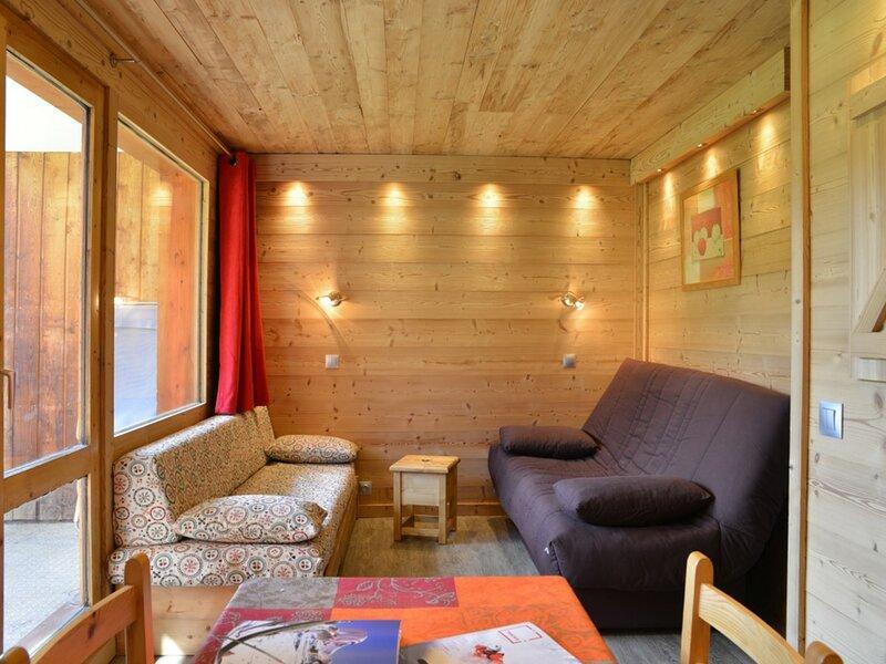 Studio divisible au pied des pistes pour 4 personnes de 28 m2, holiday rental in Plagne Bellecote