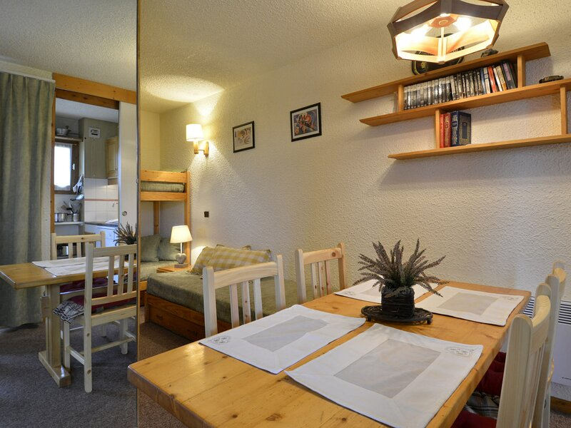 Studio divisible au pied des pistes pour 4 personnes de 28m², vacation rental in Belle Plagne