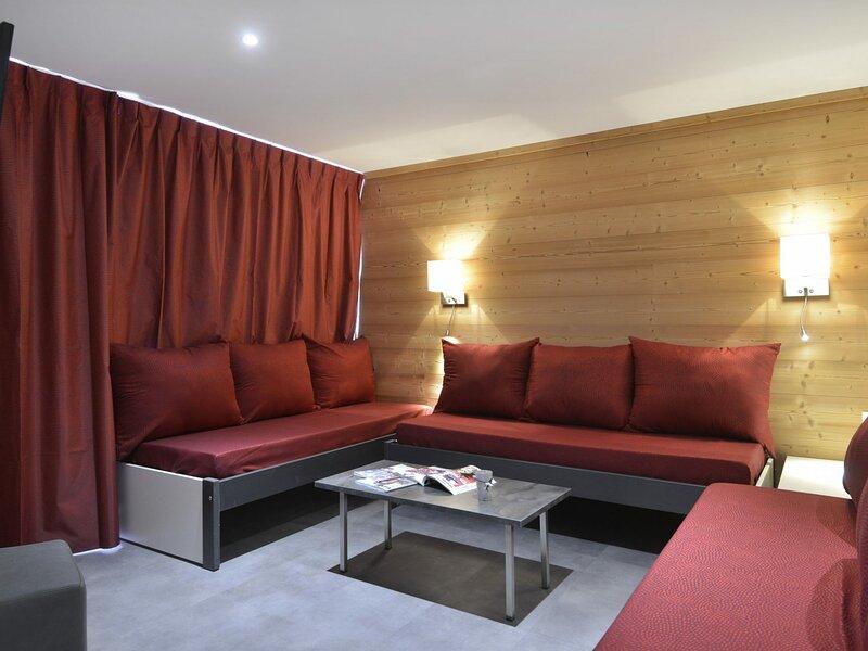 5 pièces rénové pour 11 personnes et au cœur de la station, 88 m², holiday rental in Plagne Bellecote