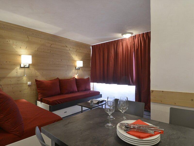2 pièces rénové pour 5 personnes et au cœur de la station, 37 m², holiday rental in Plagne Bellecote