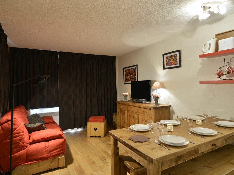 3 pièces pour 6 personnes de 36 m2 récemment rénové au pied des pistes, vacation rental in Belle Plagne