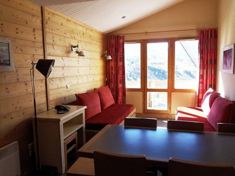 Appartement 4 pièces pour 8 personnes, pied des pistes, holiday rental in Belle Plagne