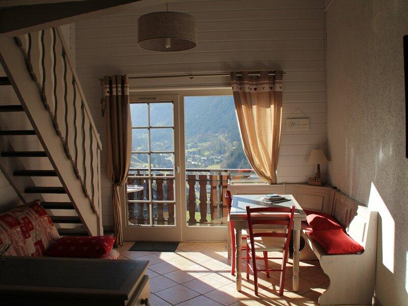 Appartement 2 pièces mezzanine 6 personnes, casa vacanza a Morgins