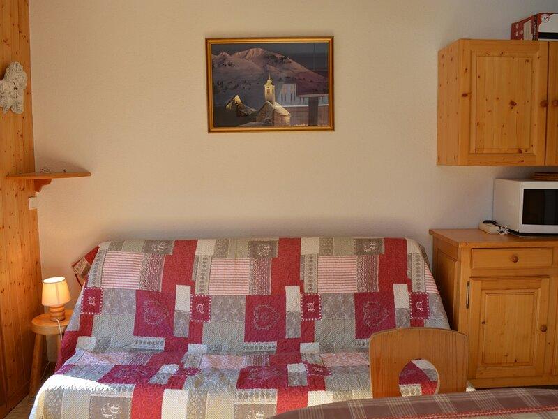 Appt 2 pièces cabine 6 couchages Chinaillon, location de vacances à Brizon