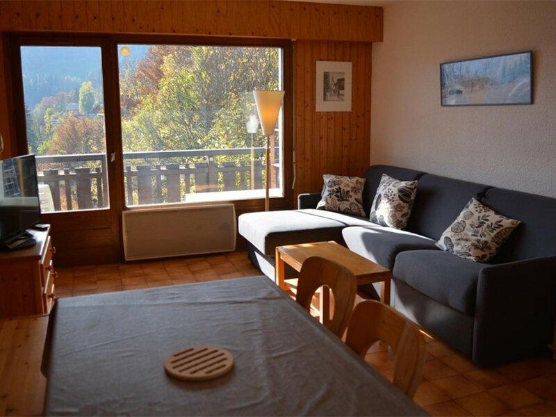 Appt Studio 4 couchages GRAND BORNAND, location de vacances à Le Petit-Bornand-les-Glières
