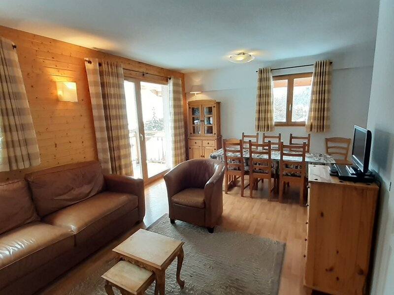 Bel et spacieux appartement 6/8 personnes 65m², holiday rental in Valfrejus