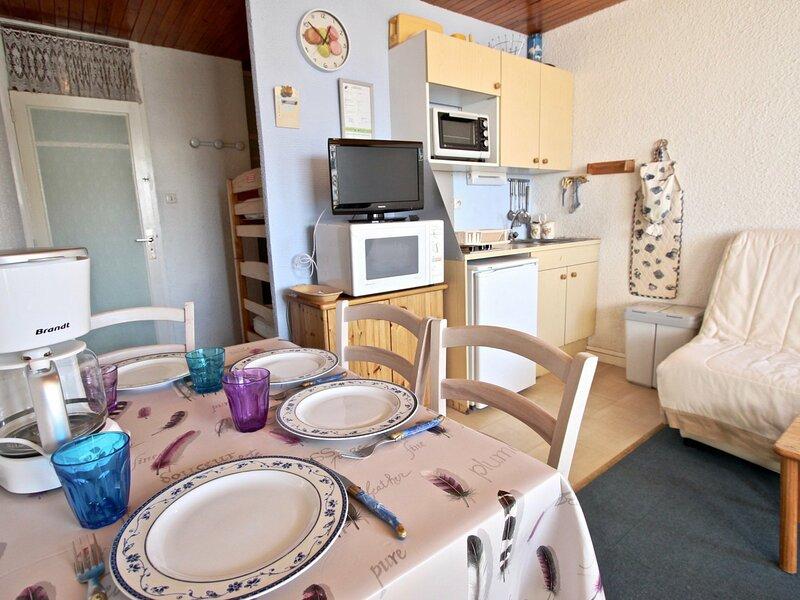 Studio proche des pistes et commerces exposé SUD, holiday rental in Saint-Martin-d'Uriage