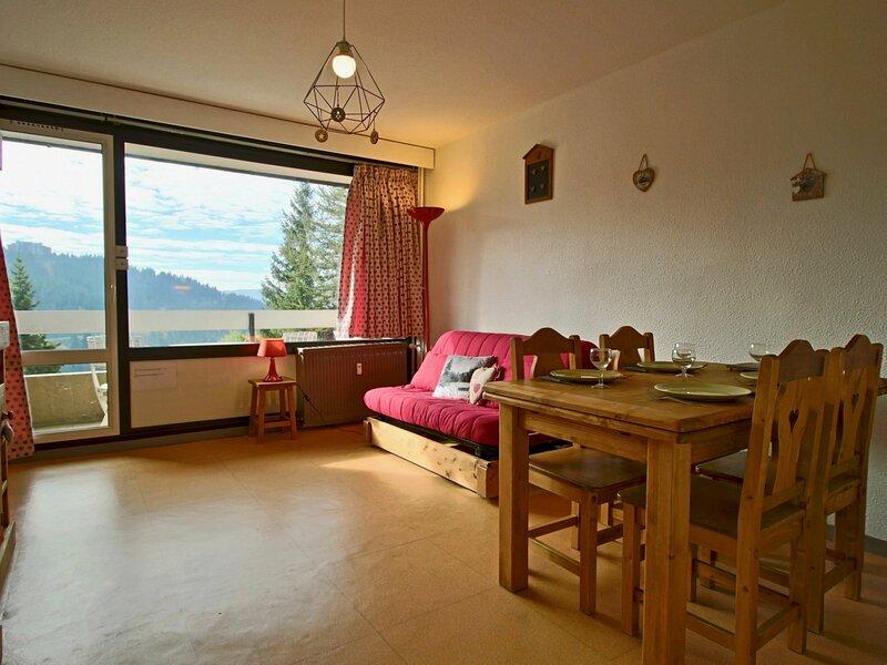Studio cabine proche pistes et commerce orienté Sud avec balcon, vacation rental in Uriage les Bains