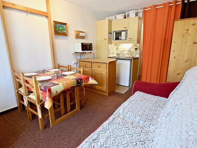 Confortable studio 3/4  places bénéficiant d'une place de parking couvert et, vacation rental in Uriage les Bains