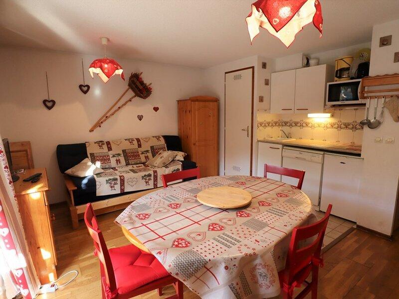 Agréable et spacieux  appartement  de 33m² pour 6 personnes, holiday rental in Areches