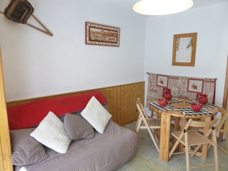 STUDIO CABINE 26M2 POUR 4/5 PERSONNES CLASSE 2** POUR 4 PERSONNES, holiday rental in Areches