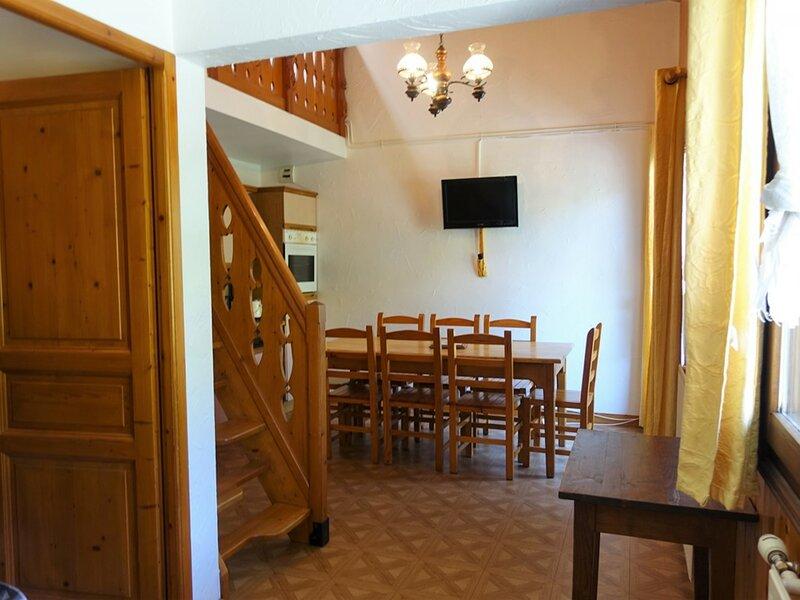 Appartement 7 pers. classé 2**au départ des pistes et des randonnées – semesterbostad i Areches