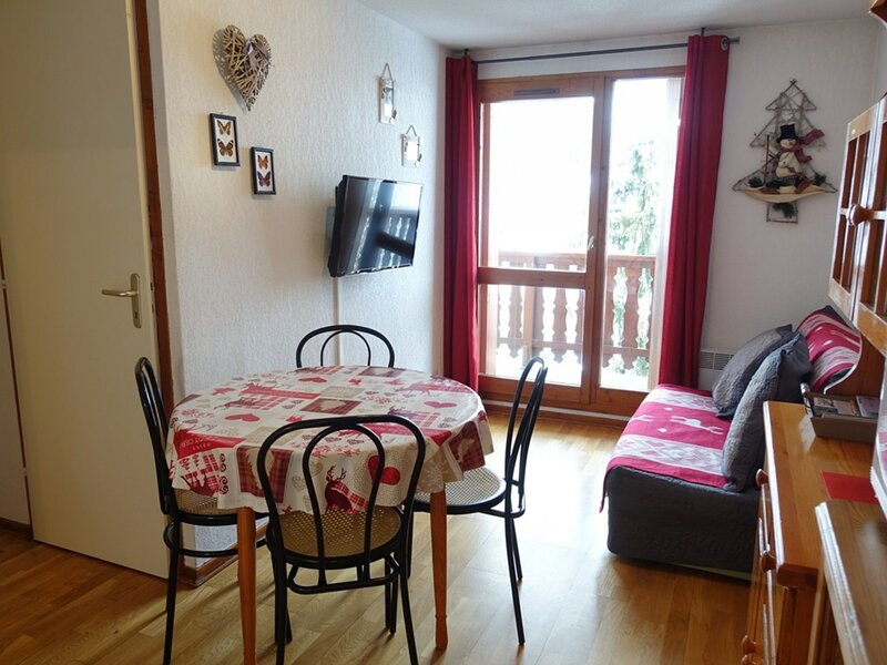 JOLI APPARTEMENT 23 M2 POUR 4 PERSONNES, holiday rental in Areches