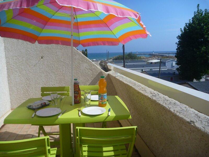 Appartement pour 6 personnes avec climatisation, alquiler vacacional en Marseillan