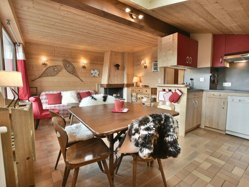 Appartement 6 personnes, 3 chambres, coeur du village, parking !, location de vacances à Le Petit-Bornand-les-Glières