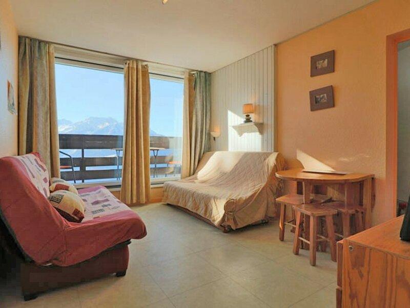 STUDIO AVEC MAGNIFIQUE VUE SUR LA VALLEE, holiday rental in La Rosiere