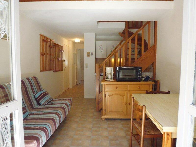 Appartement T2 avec mezzanine - 6 personnes - Résidence Lac., holiday rental in Gourette
