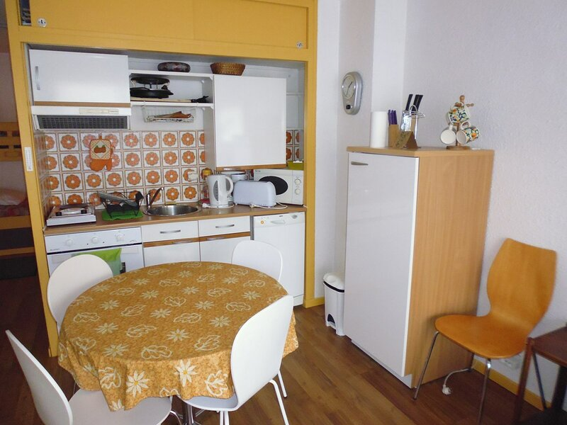STUDIO 4 personnes le Milan  Centre Station, holiday rental in Arbeost