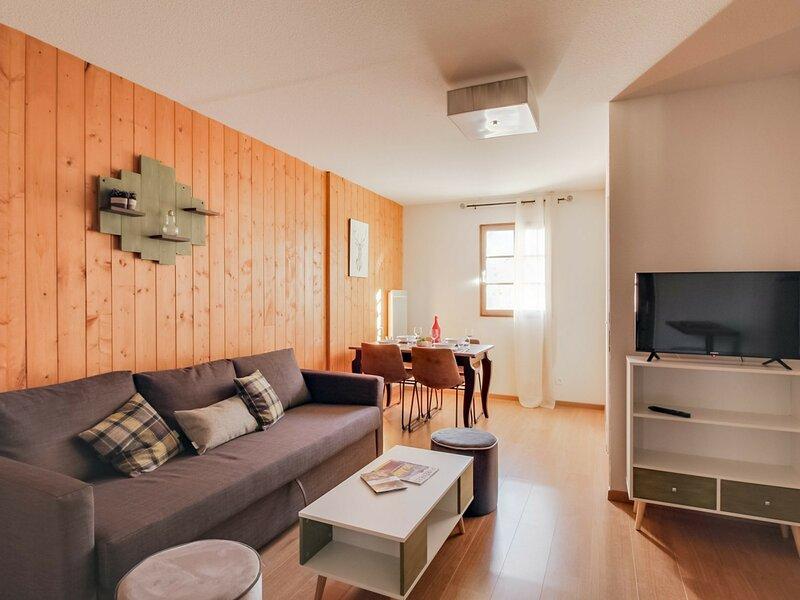 T2 cabine, résidence Val de Roland, 5 personnes, alquiler vacacional en Sassis