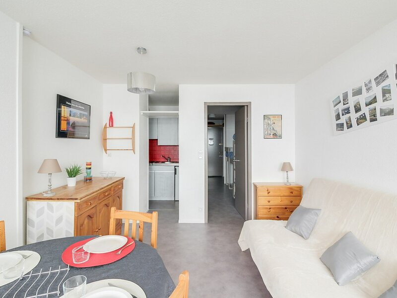 Studio cabine 5 personnes, résidence Mongie Hebdo, holiday rental in La Mongie