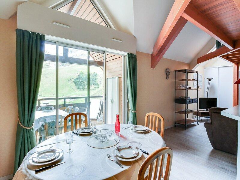 Duplex 8 pers avec parking couvert - résidence Face Sud, holiday rental in La Mongie