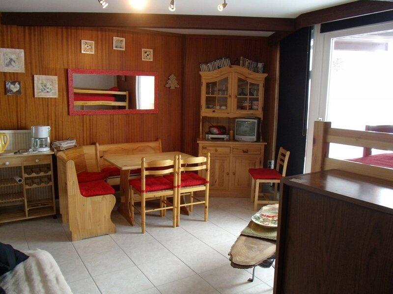 Appartement 2 pièces 6 pers balcon Sud -Béro Bisto, holiday rental in La Mongie