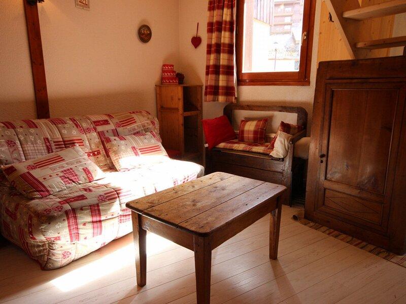 Appartement 3 pièces plus mezzanine 8 personnes à Vallandry proche des pistes, casa vacanza a Vallandry