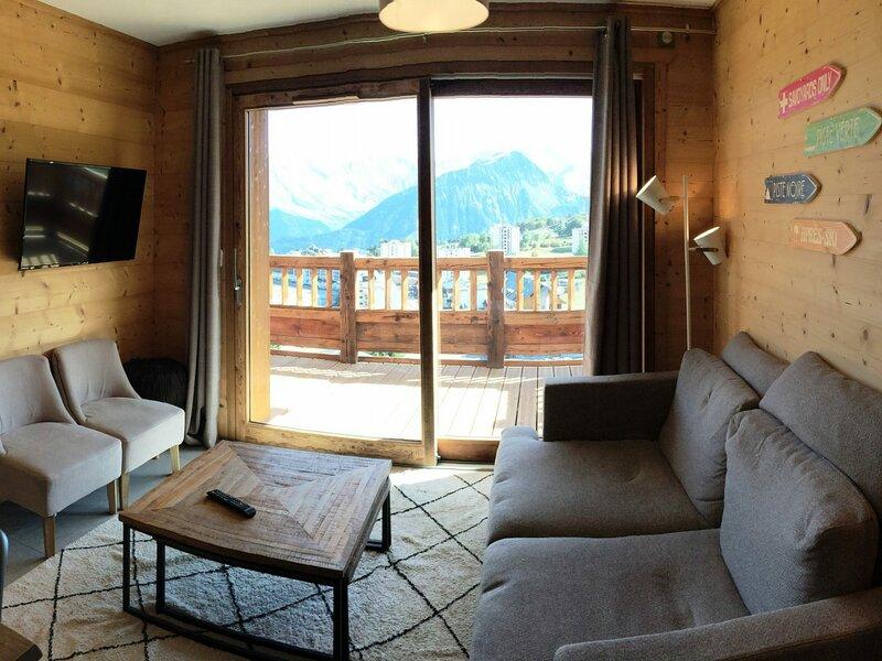 Appartement de standing sur les pistes, casa vacanza a Fontcouverte-la Toussuire