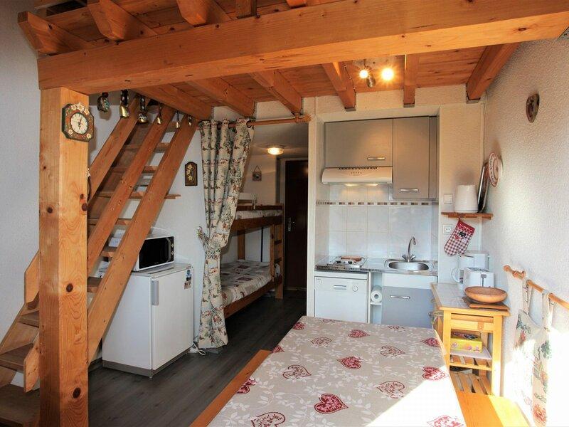 4 pers. 24 m² 3 étage Sud-Ouest, location de vacances à Les Bottières