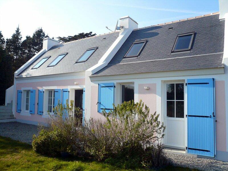 Qualité et jardin à Bortentrion, holiday rental in Sauzon
