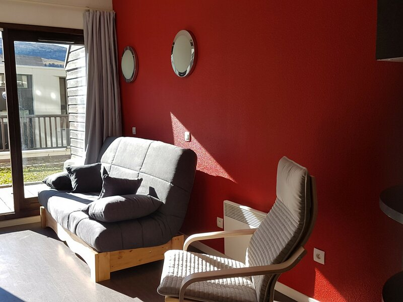 appartement au pied des pistes, holiday rental in Flaine
