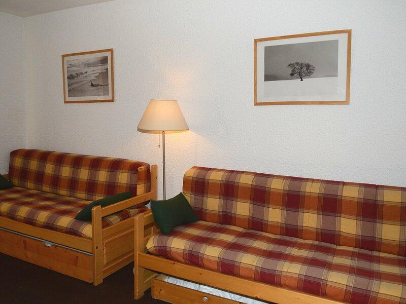 joli studio situé au coeur de Flaine Forêt, holiday rental in Flaine