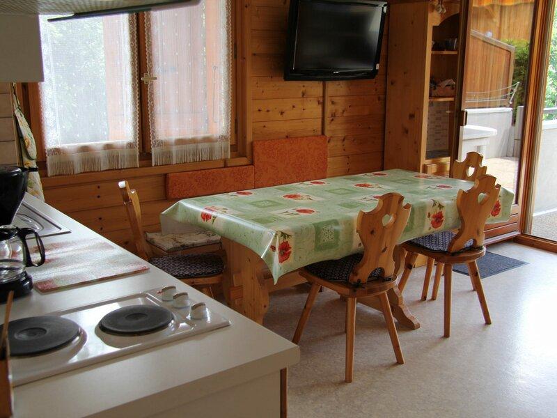 4-6 personnes au coeur du village, holiday rental in Saint-Jean-de-Sixt