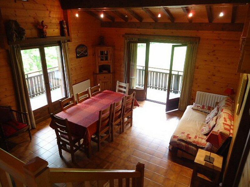 Chalet individuel 12 personnes - calme (LOM159), holiday rental in Saint-Jean-de-Sixt