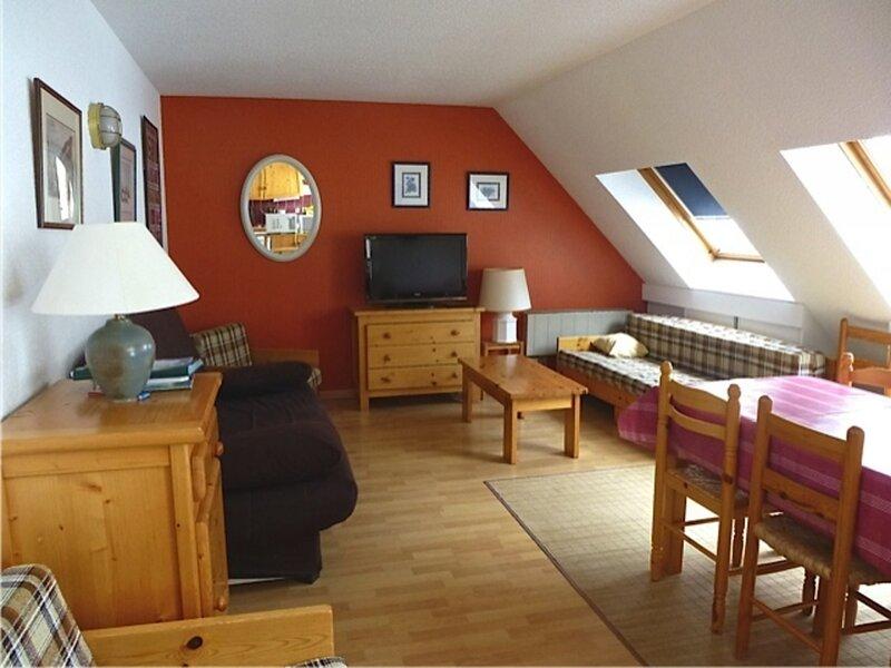 STUDIO-CABINE LUMINEUX AVEC TERRASSE EXPOSEE SUD, vacation rental in Bareges