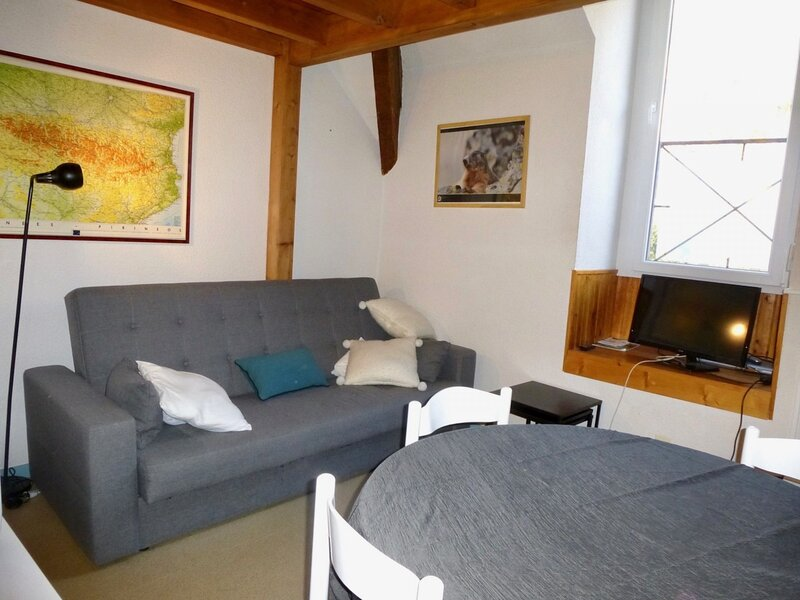 APPARTEMENT DUPLEX AVEC LAVE-LINGE, 5 COUCHAGES, BAREGES, holiday rental in Sers