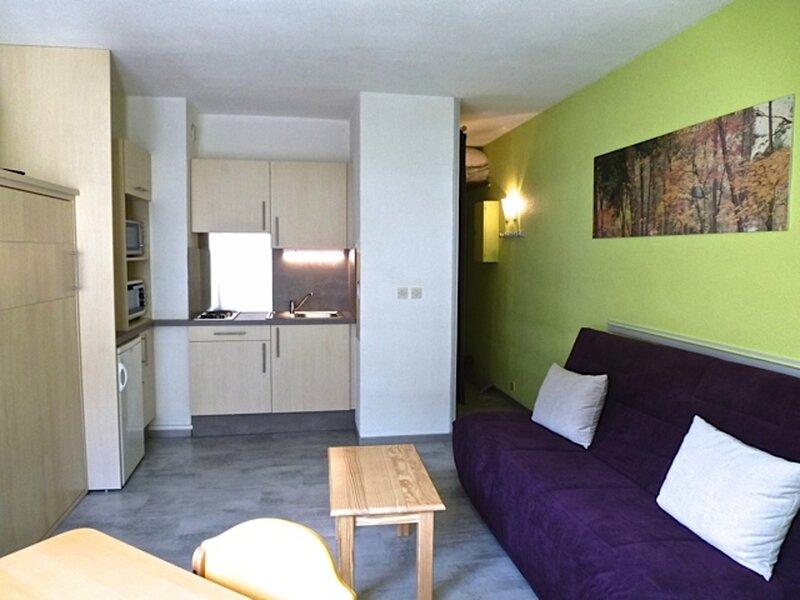 STUDIO EXPOSE SUD, REFAIT A NEUF AVEC LAVE-LINGE ET PARKING COUVERT, holiday rental in Sers