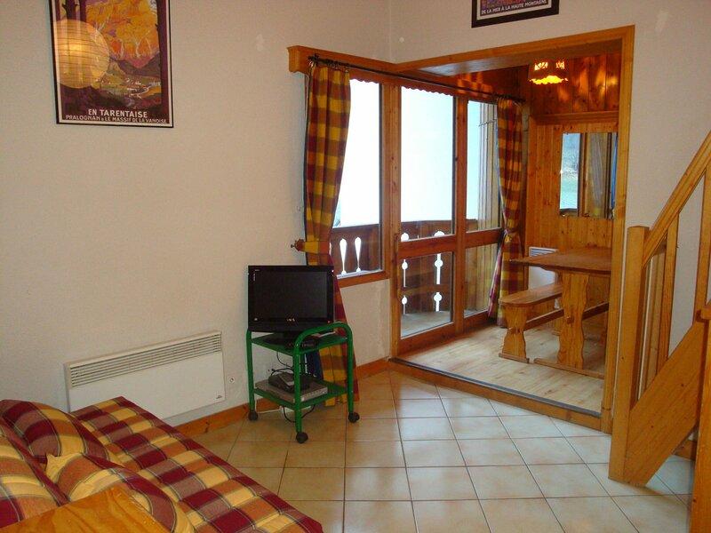 T2 / mezzanine en plein centre, casa vacanza a Pralognan-la-Vanoise