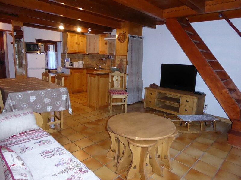 Petit chalet en pierre, location de vacances à Pralognan-la-Vanoise