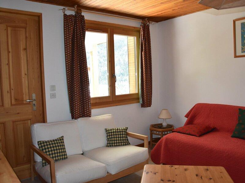Agréable rez de jardin dans chalet, location de vacances à Pralognan-la-Vanoise