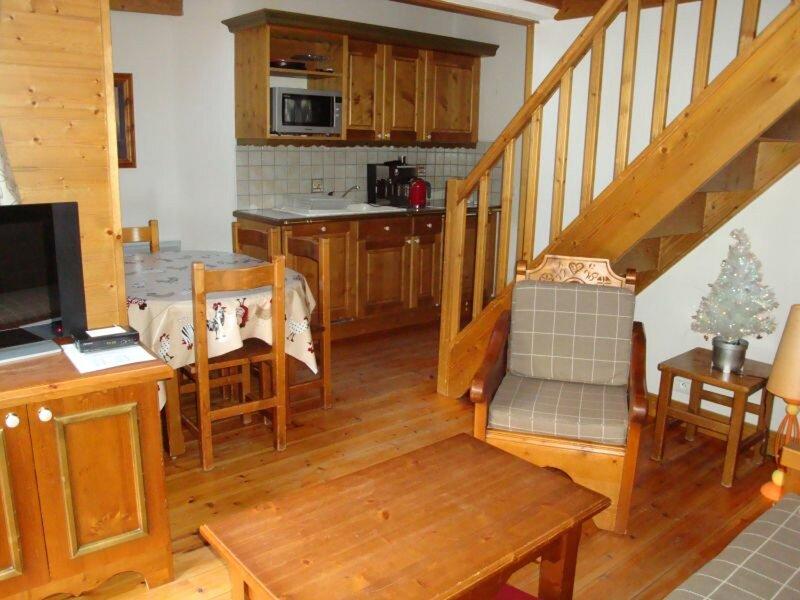 Agréable duplex avec balcon - idéal en famille !, alquiler vacacional en Pralognan-la-Vanoise
