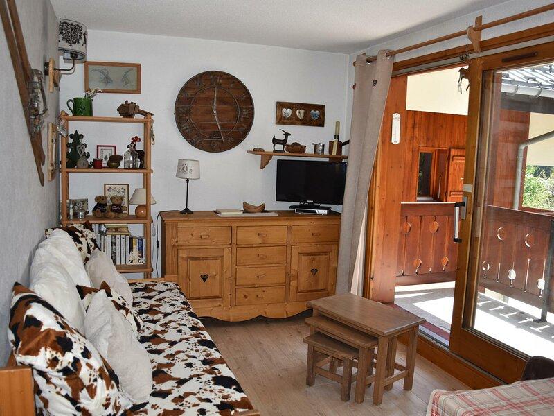 Cosy - grand balcon plein sud, alquiler vacacional en Pralognan-la-Vanoise