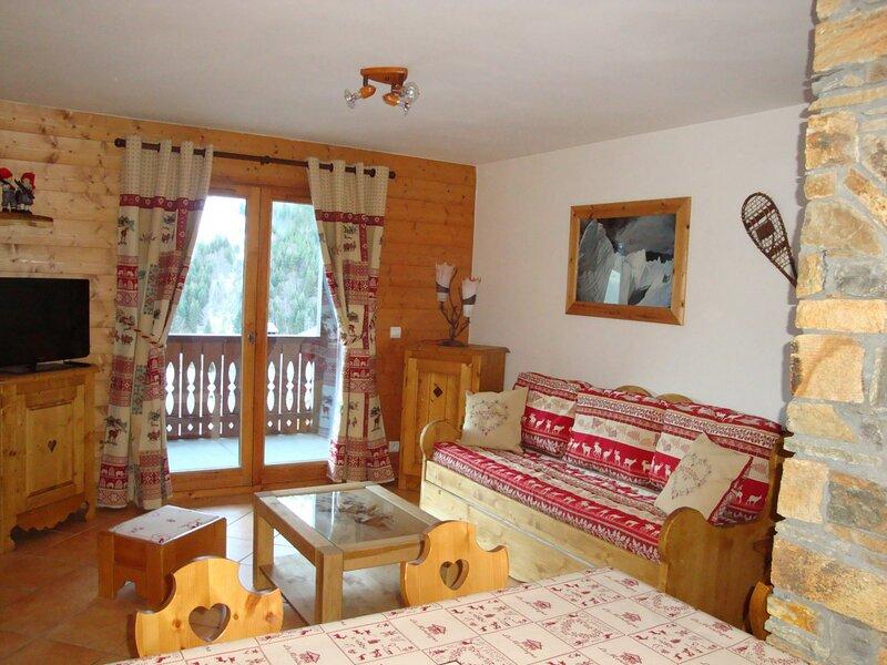 Idéal en famille - Terrasse Sud, location de vacances à Pralognan-la-Vanoise