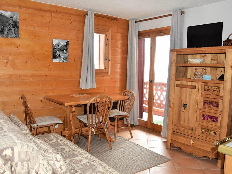 Style montagne avec agréable balcon, alquiler vacacional en Pralognan-la-Vanoise