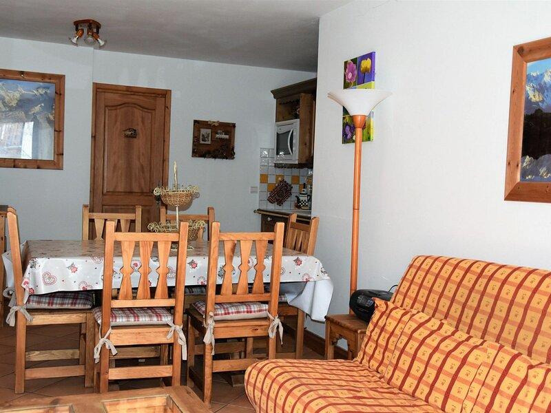 Rez de jardin dans belle résidence, alquiler vacacional en Pralognan-la-Vanoise
