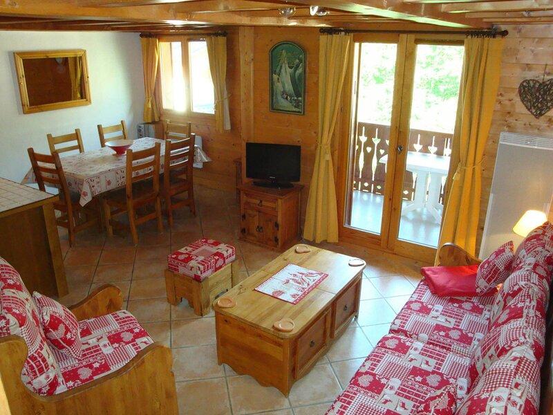 Chaleureux duplex - proche de tout, casa vacanza a Pralognan-la-Vanoise